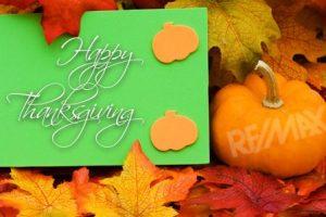Thanksgiving Update