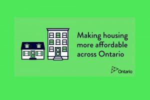 Ontario Announces 'Fair Housing Plan'