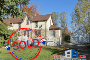 SOLD! 213 Chantler Rd., Welland