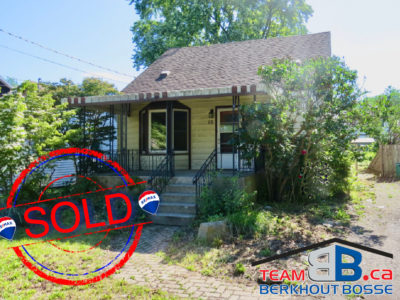 SOLD!  $379,900 10 Hayes St., St.Catharines